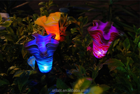 Short term delivery Tulip flowers solar light STL-002