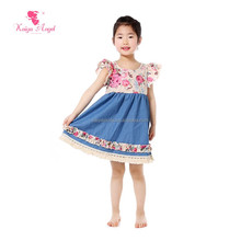 wholesale boutique priting kids wear picture kids girls frock