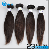 2015 Best Selling leading hair maufacturer Double Weft no shedding remy straight track hair