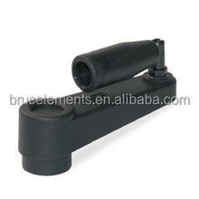 Plastic Crank Handle with folding grip and fit bushing BK38.0230