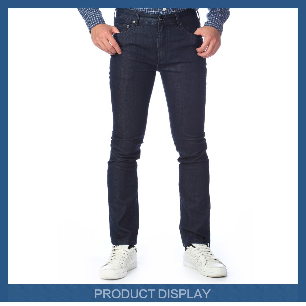 Dark blue colours jeans trousers city boy jeans jeans wholesale China