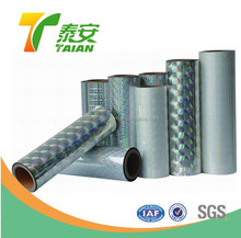 26mic-32mic Holographic Thermal Lamination Film for Packaging
