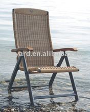Foldable rattan Outdoor bench chair
