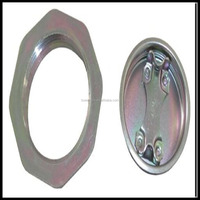 According to the request of customer cheap embedded flange closure for 200L barrel