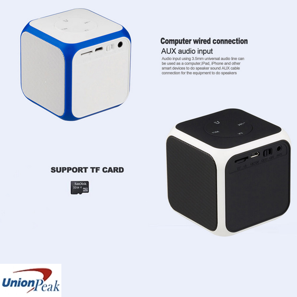 High-quality Cube Mini 5W Bluetooth Speaker with Handsfree Function with Factory Price