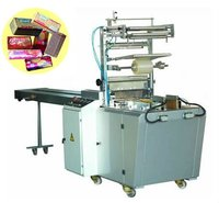 automict folding edge type Biscuit packing Machine