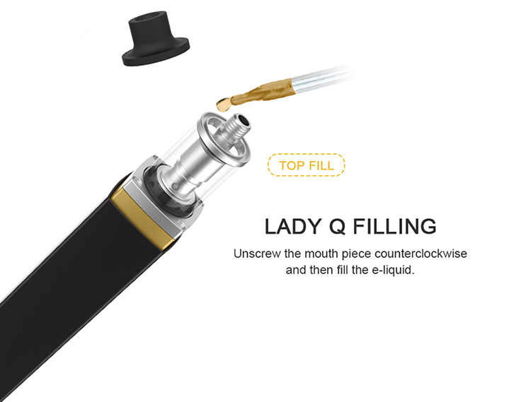 Global first batch lipstick-like Artery Lady Q Kit from Elego