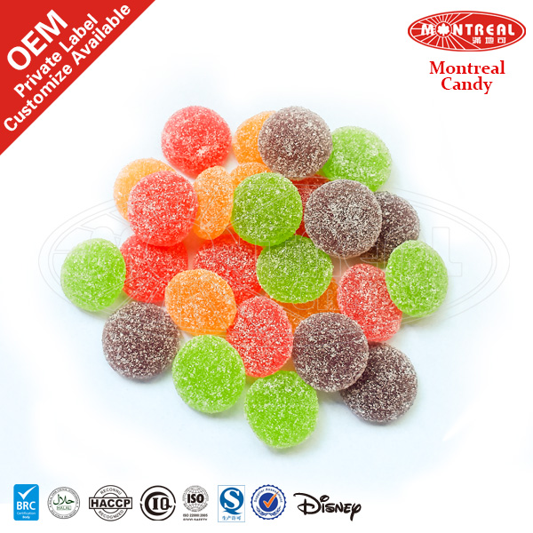 Mix Fruit Flavour Jelly Ball Gummy Candy