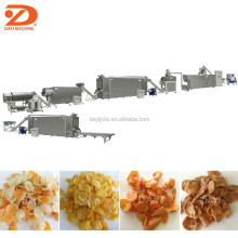 Corn puff snack extruding food line/ Flakes cereal food production plant/Wheat puffing snack process equipment