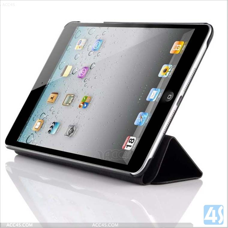 Smart Case Cover Folio For iPad Mini Magnetic Stand + Back Hard Shell 2 in 1 P-IPDMINIiiCASE011