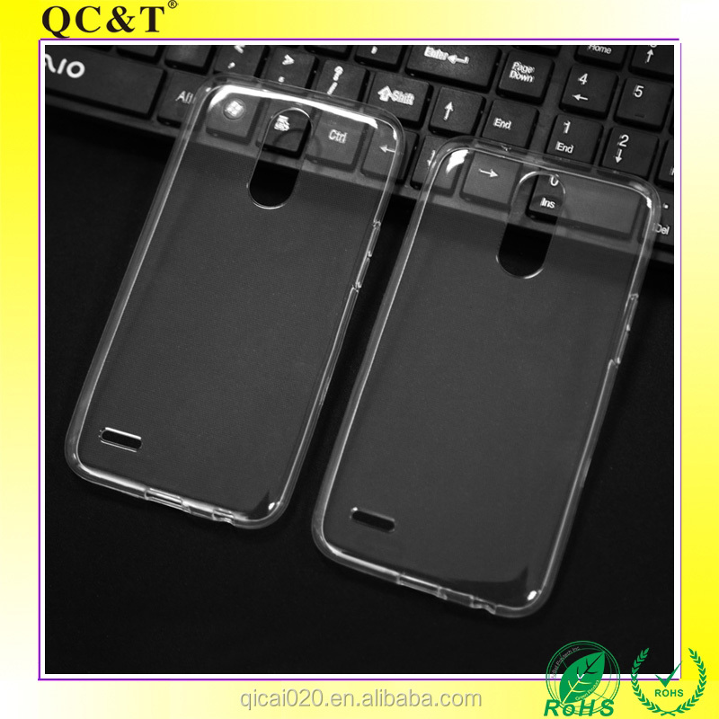 2017 Factory Wholesale Fashion Waterproof Transparent TPU Protective Case For LG K10 2017 /X400 /M250N Mobile Phone Accessory