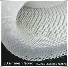 SGS certificated knitted 3D spacer mesh fabric for mattress