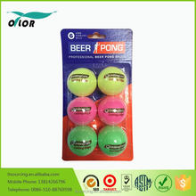Inexpensive plastic table tennis ball for wholesale
