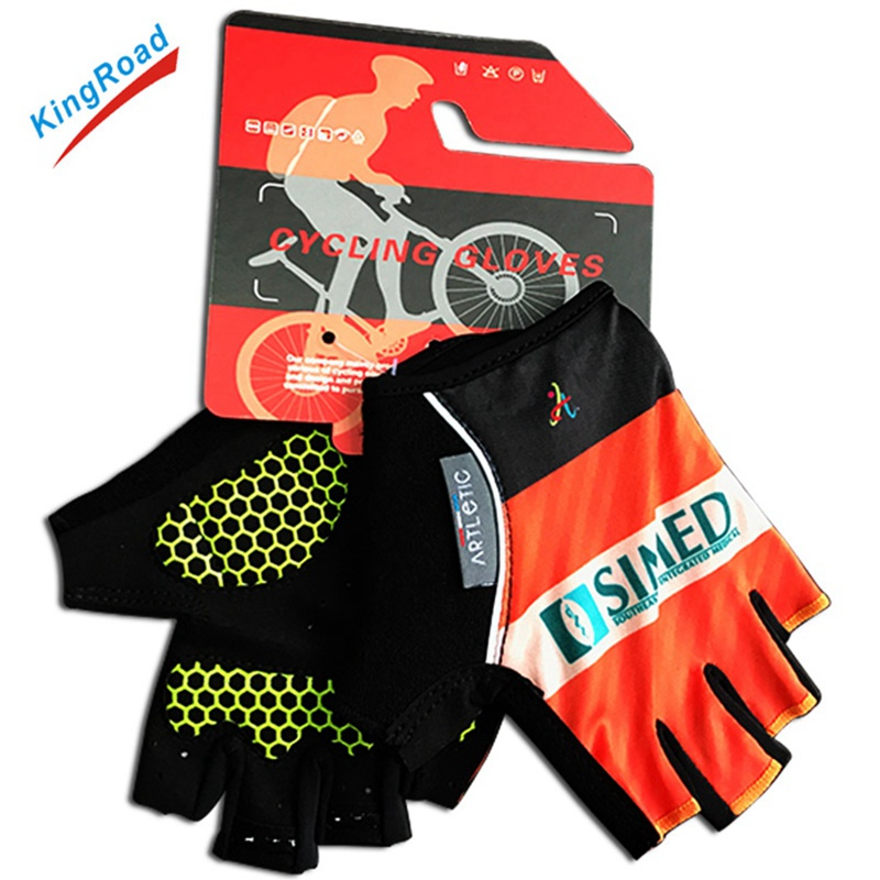 Comfortable Sport Wholesale bike half finger cycling gloves