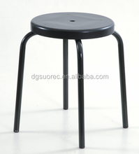 Black ESD Antistatic cleanroom Chair lab stool