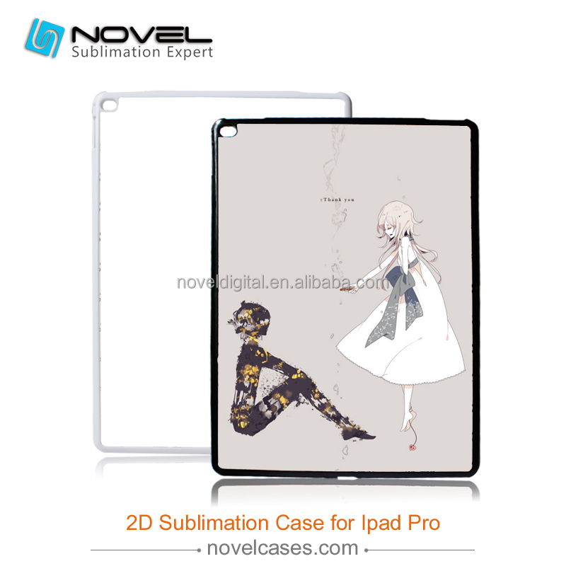 2D blank tablet case for ipad Pro 12.9""