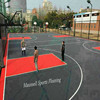 outdoor sports court PP interlocking tiles openwork permeable surface