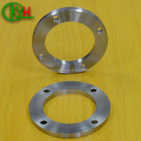 Custom made cnc machined aluminum support ring parts