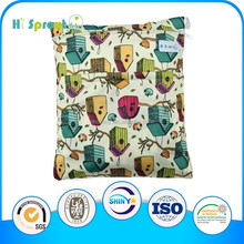 Colorful baby wet bag for diaper bag
