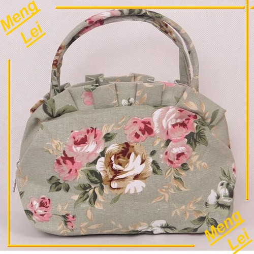 Korean Style Cute Printed Wholesale Canvas Tote Bag