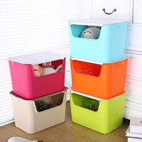 Waterproof plastic drawer storage box