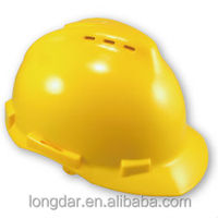 industrial vented PP shell CE EN397 standard approved Safety Helmet