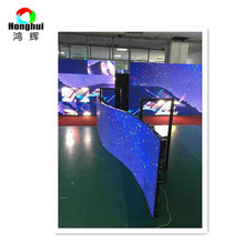 Outdoor HD big large arbitrary shape oled P5.95 led curtain display screen