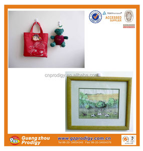 strong load capacity nail hook picture frame hanger/photo frame with hooks/picture hanging system