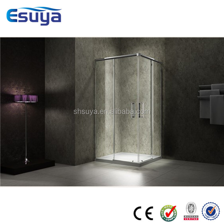 cheap shower cubicle four sided shower enclosure protable top cover russian shower room