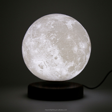 Moon Lamp Floating Lamp Night Light with Rotating