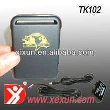 Factory hot sale gps real time tracker TK102-2 with free software tracker gps 104