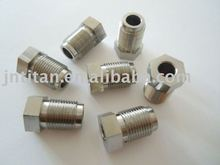 Titanium car fittings