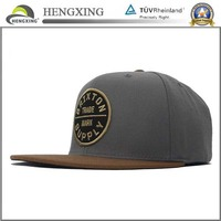 OEM Plain China Snapback Hats Wholesale/ Custom Snapback Cap Cheap With 3D Embroidery Logo On Front