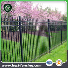 Protective Pickets Wrought Iron Fence Panel for Villa