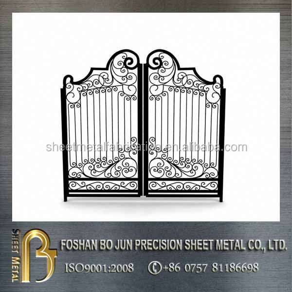 Custom products alibaba website laser cutting metal fence folding gate