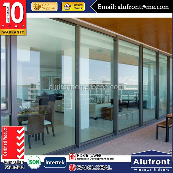Aluminium Sliding Door/Double Glazed Aluminium Windows And Doors Comply with Australian Standards
