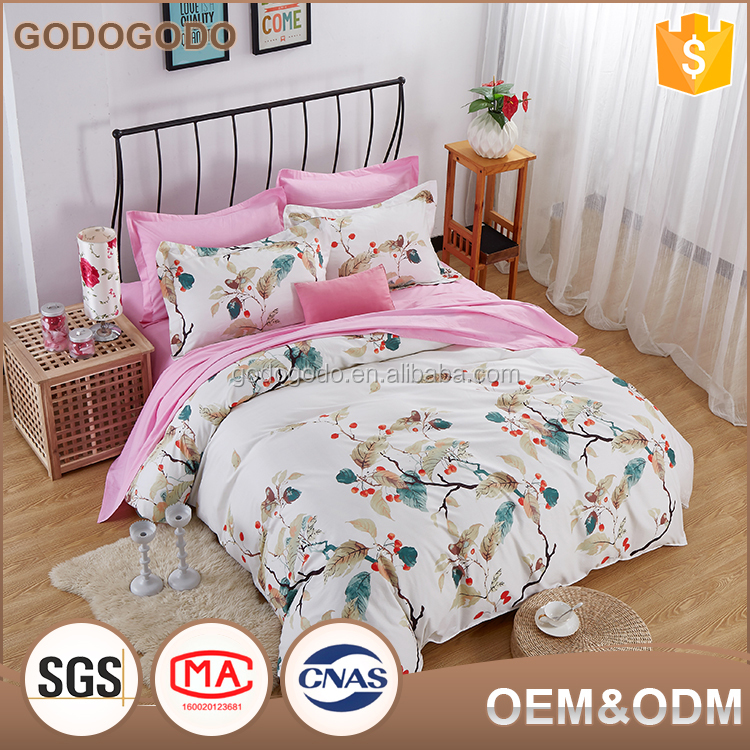 Exquisite Fashion Design Wedding Home Textiles 100% Cotton Queen Size Comforter Set 8 Pieces Bedding