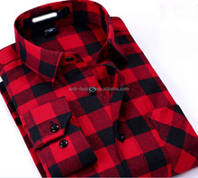 wholesale retail western european mens formal plaid checked cut sew poloo shirts