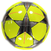 Thermo Bonded PVC laminated synthetic leather soccer footballs size 5 laminated soccer ball