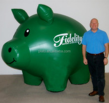 Funny helium balloon advertising/ inflatable pig balloons/giant helium balloons