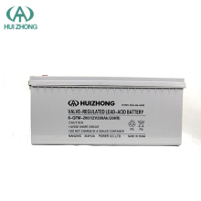 HOT SALE HUIZHONG BATTERY! Free Maintenance Type and 12v 200AH Voltage AGM battery