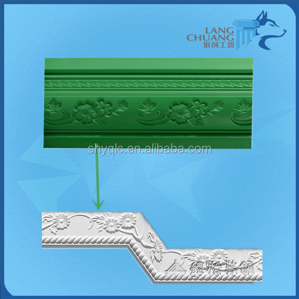 Inside Corner Decorative Moulding Making Plaster Ceiling Cornice Molds