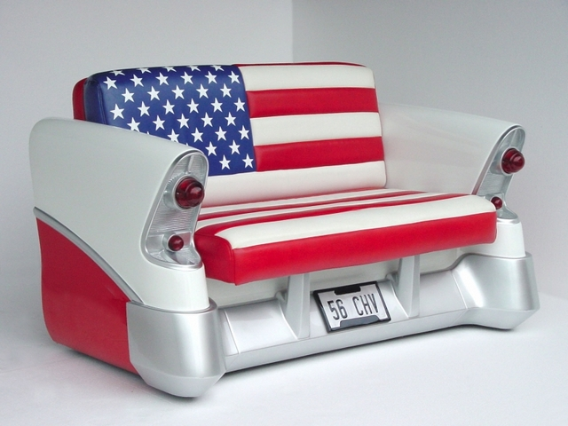 Chevrolet Classic Car Sofa