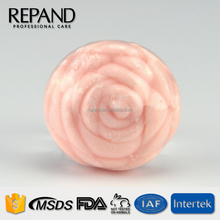 Disposable Hotel Soap Rose Shape skin whitening bath soap for babies