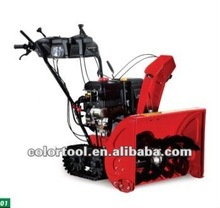 Electric gasoline 13hp track snow thrower