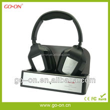 Home audio use dual wireless headphones for TV with transmitter GH-840