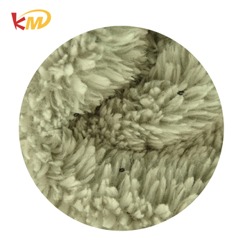 Guaranteed quality cheap polyester shu velveteen fleece lining fabric price