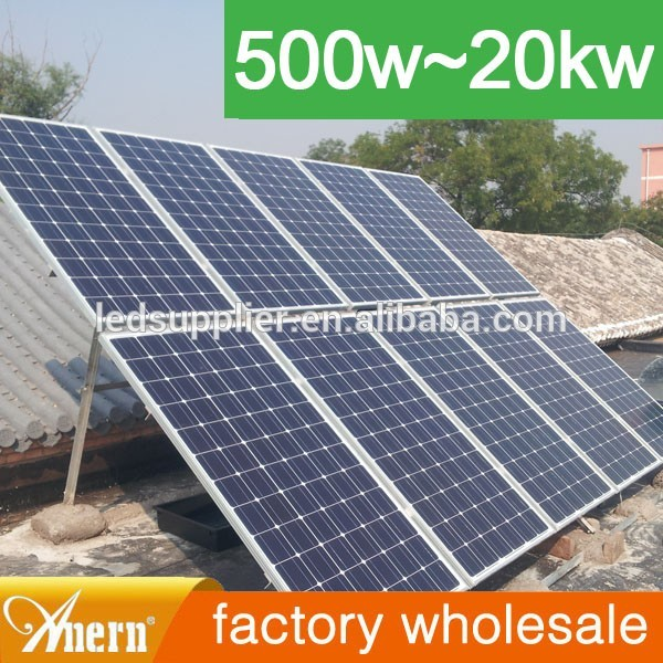 10kw home used solar Generator solar pv ups system