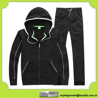 Hooded sweat suits for women&men