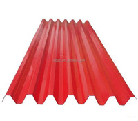 China corrugated steel curved corrugated roof panel/sheet metal fire rating
